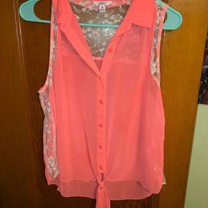 Cute women's blouse